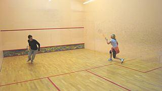 Squash spielen im Poseidon in Leipzig Markkleeberg