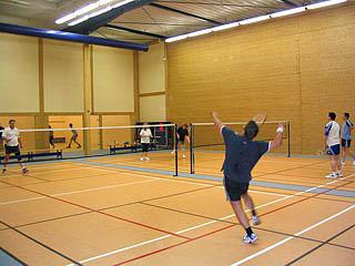 Badminton spielen im Poseidon in Leipzig Markkleeberg